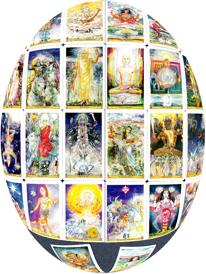El Sagrado Tarot de India